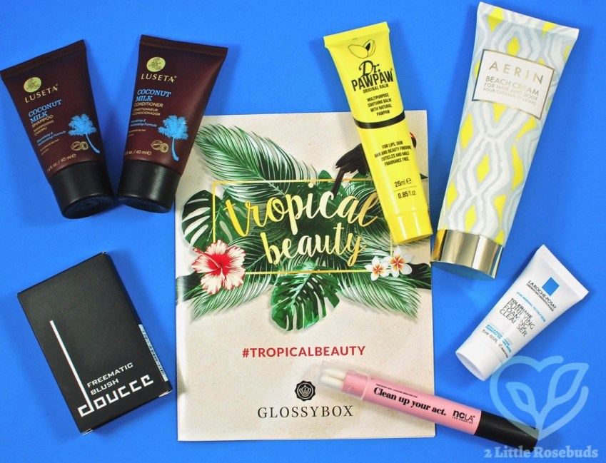 Glossybox July 2017 Subscription Box Review & Coupon Codes