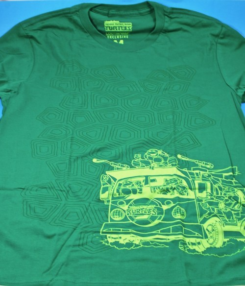 Loot Crate TMNT shirt