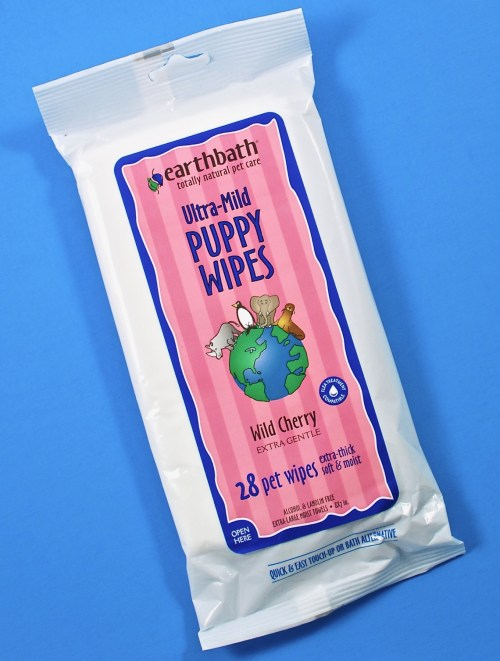 Earth bath puppy wipes