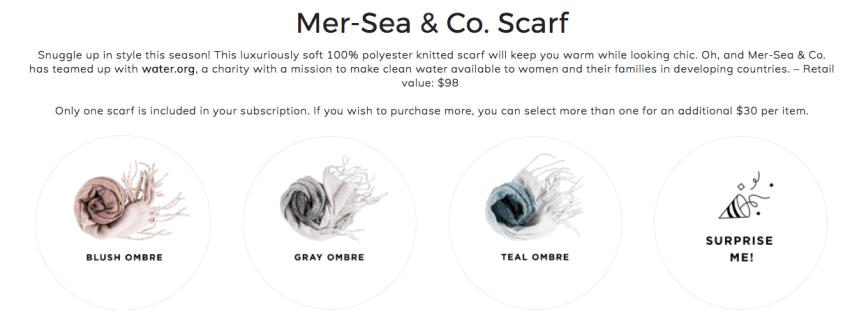 Mer-Sea scarf