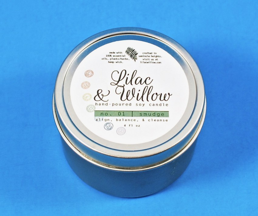 Lilac & Willow candle