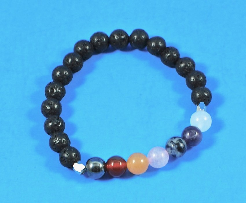Chakra wrist mala bracelet