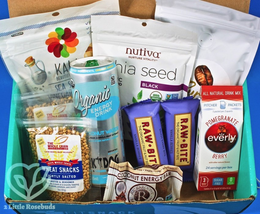 August 2017 Fit Snack review