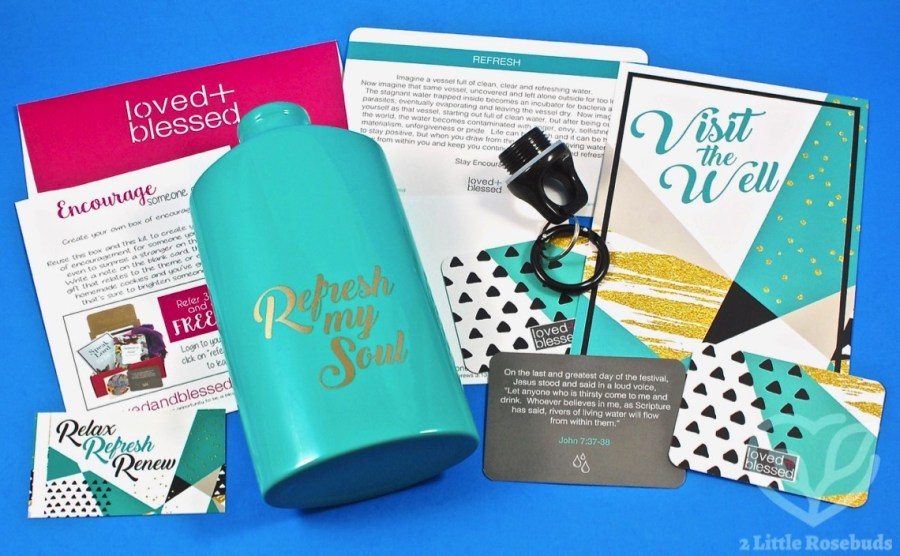 August 2017 Loved + Blessed review