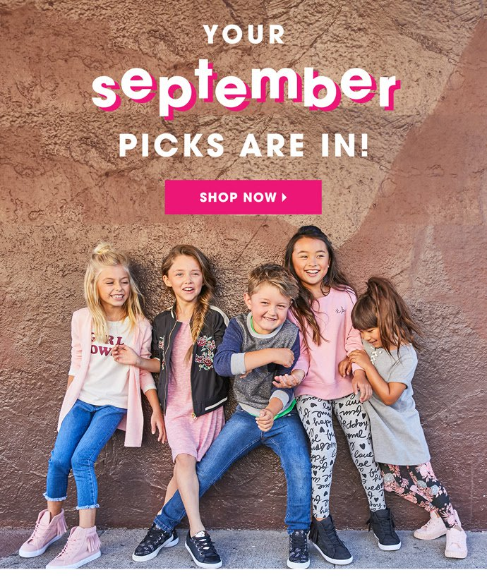 FabKids September 2017 Outfit Reveals & BOGO Offers