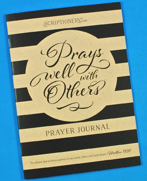 Scriptionery prayer journal