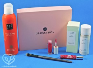 October 2017 Glossybox review