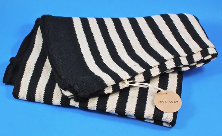 Jack + Lucy striped blanket