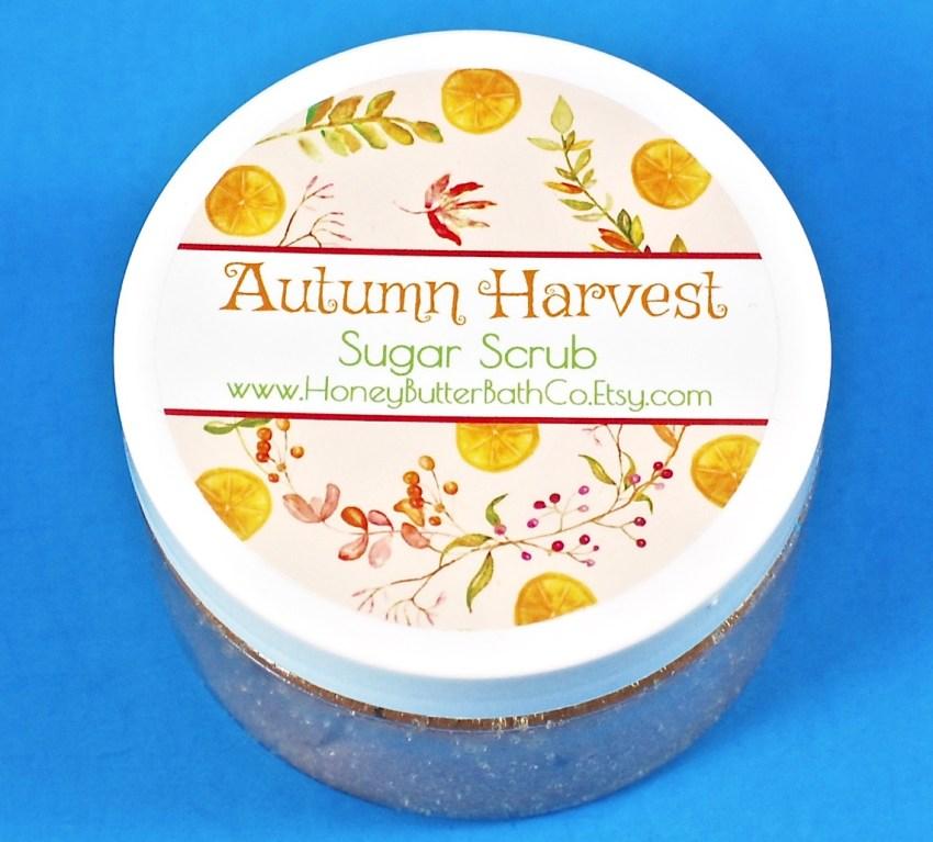 Autumn Harvest sugar scrub