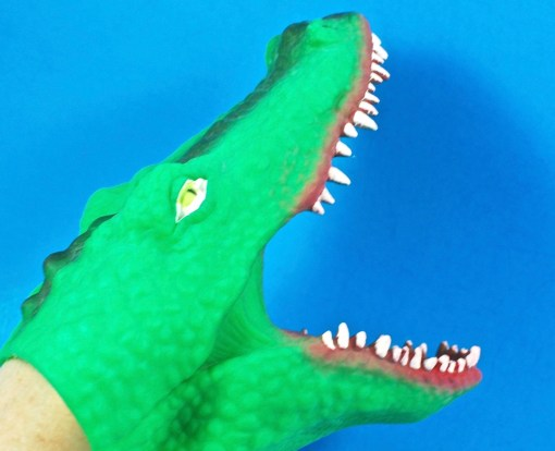 big bites crocodile