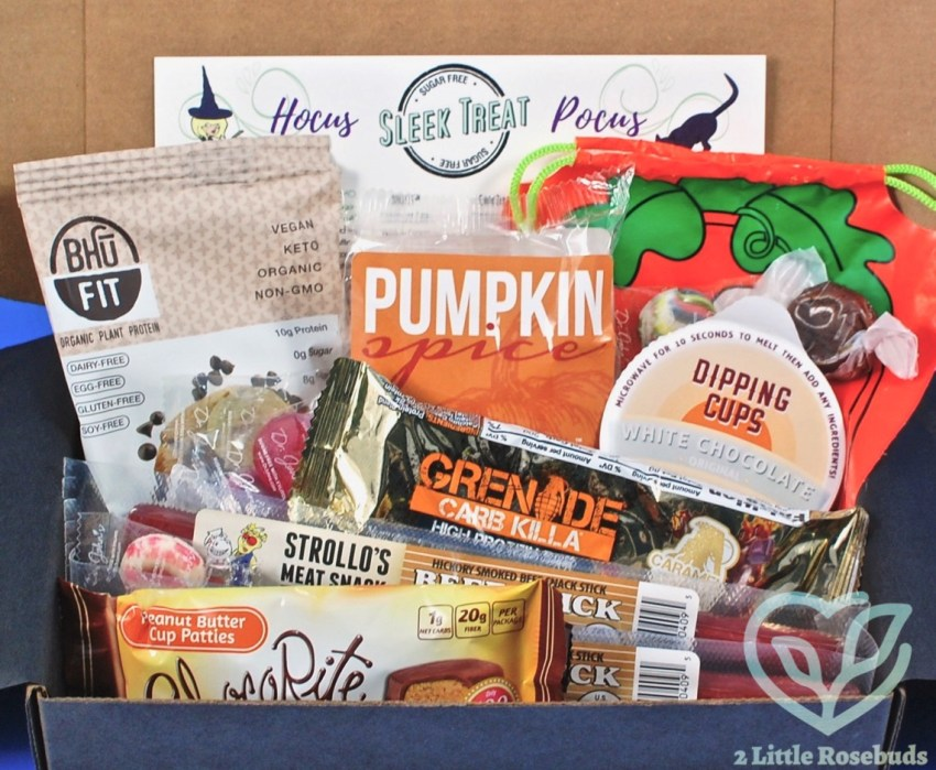 Sleek Treat October 2017 Sugar Free Subscription Box Review & Coupon Code