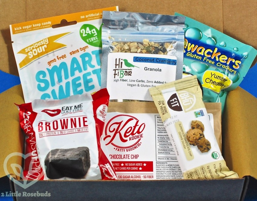Sleek Treat September 2017 Sugar Free Subscription Box Review & Coupon Code