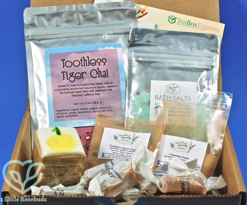 Tea Box Express October 2017 Subscription Box Review & Coupon Code