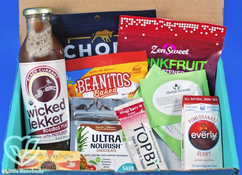 Fit Snack October 2017 Subscription Box Review & Coupon Code