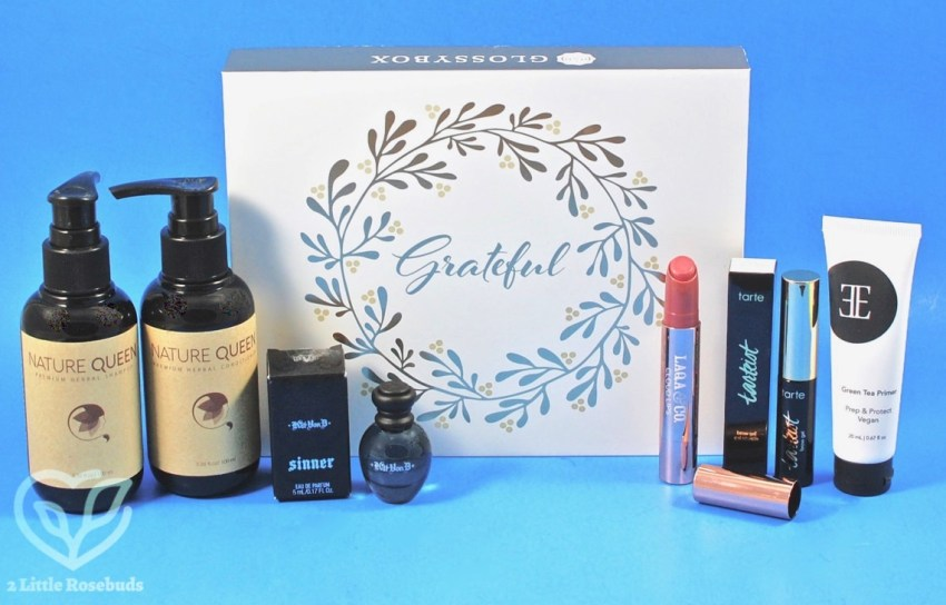 Glossybox November 2017 Subscription Box Review & Coupon Code