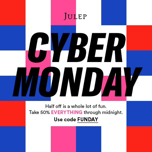 Julep Cyber Monday Coupon – Save 50% Site-Wide!