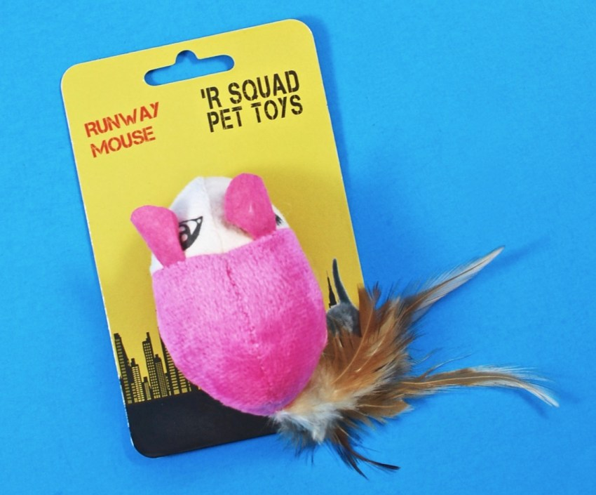 Runway mouse cat toy