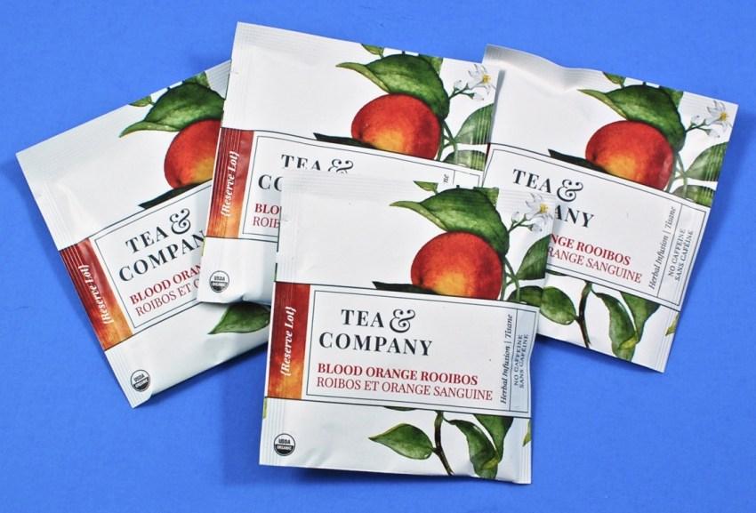 Mighty Leaf blood orange tea