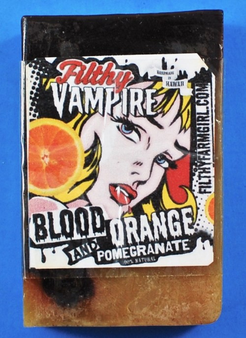 Vampire blood orange soap