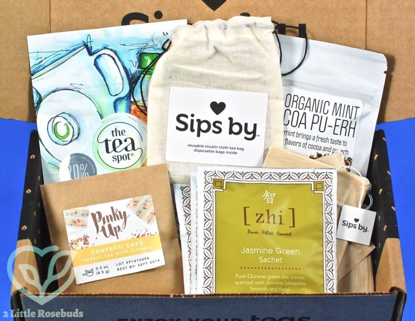 Sips By November 2017 Tea Subscription Box Review, Coupon Code & Giveaway