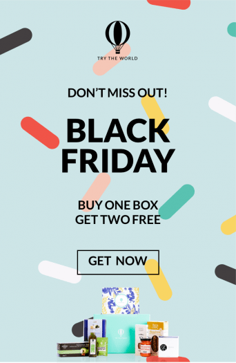 Try the World Black Friday Deal – Buy 1 Box Get 2 FREE