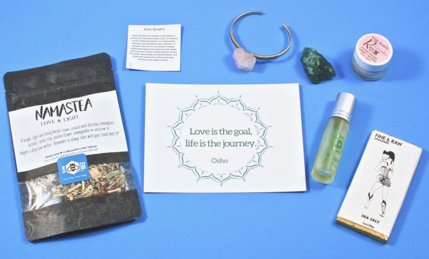 BuddhiBox February 2018 Subscription Box Review & Coupon Code