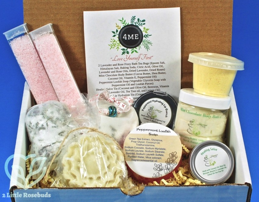 Depravi Teas 4Me Bath Box February 2018 Review & Coupon Code