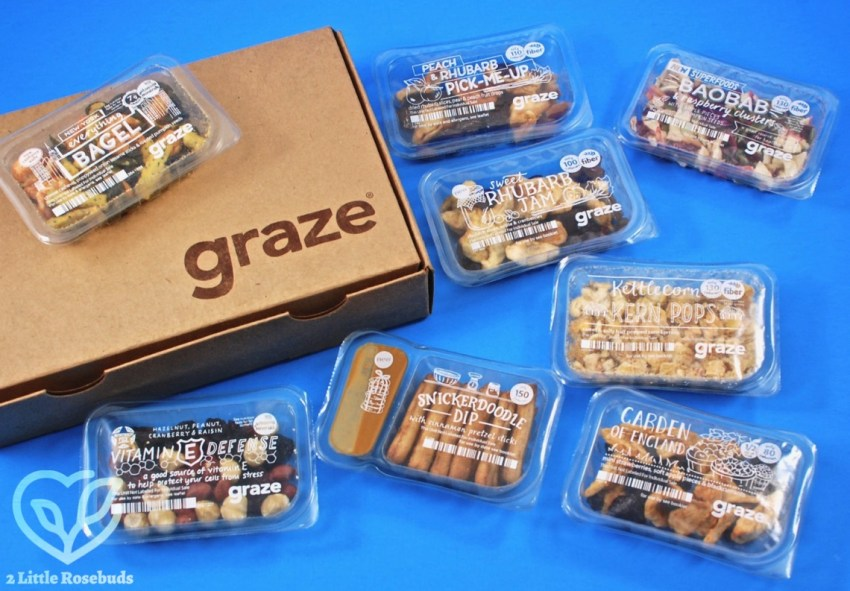 Graze February 2018 Snack Subscription Box Review & First Box FREE
