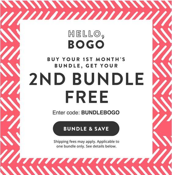 Honest Company April 2018 Bundle Sale – Buy One Get One FREE!