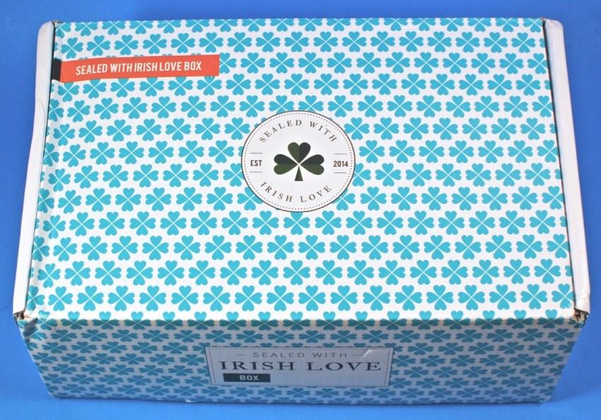 Sealed With Irish Love box