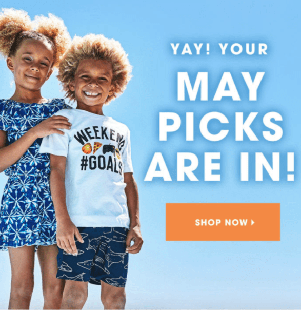 FabKids May 2018 coupon