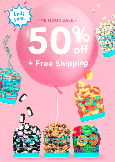 Candy Club Coupon Code – 50% Off Your First Box + Free Shipping