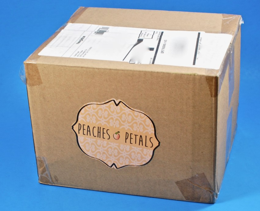 Peaches & Petals box
