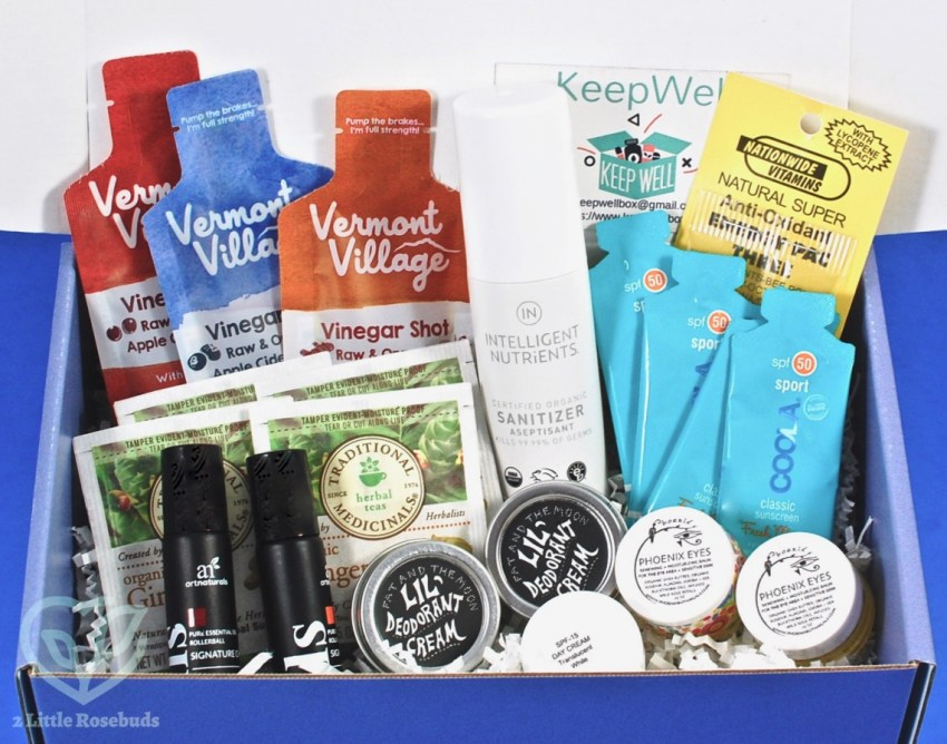 Summer 2018 Keep Well box review