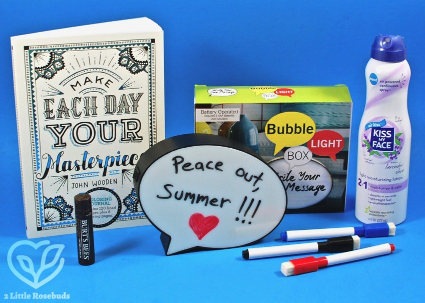 Peaches & Petals August 2018 Subscription Box Review & Coupon Code