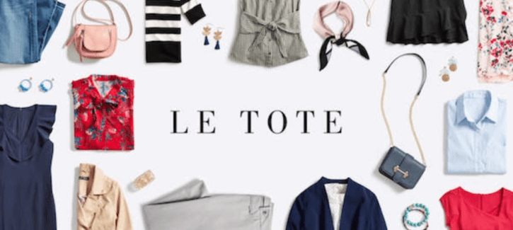 Le Tote October 2018 Coupon Code – $20 Off Your First Month