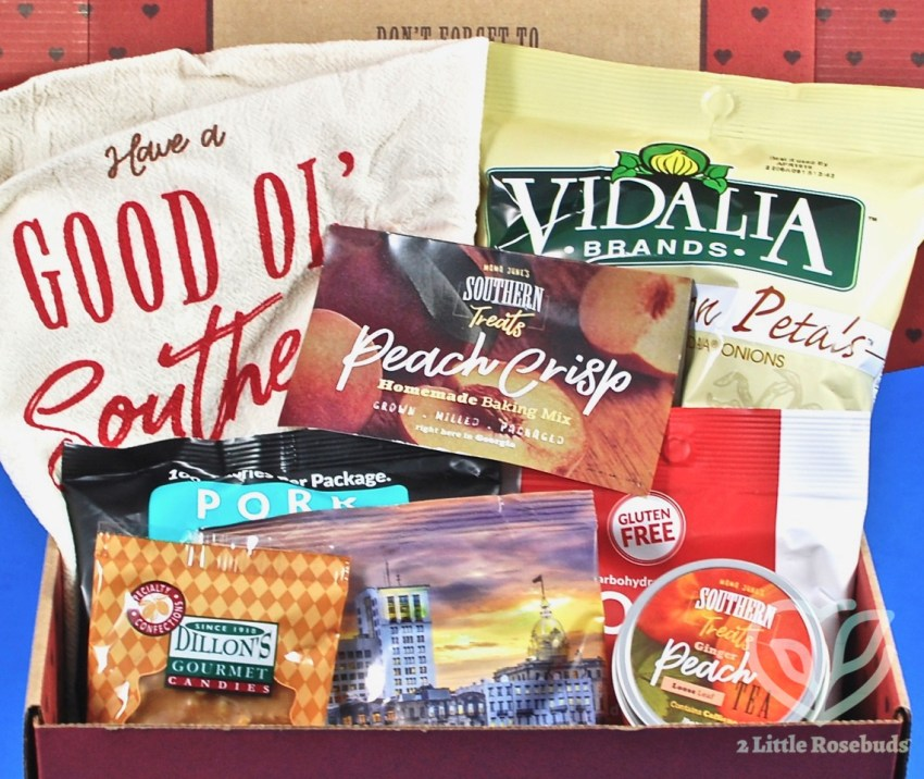 Mama June's Southern Treats September 2018 Subscription Box Review