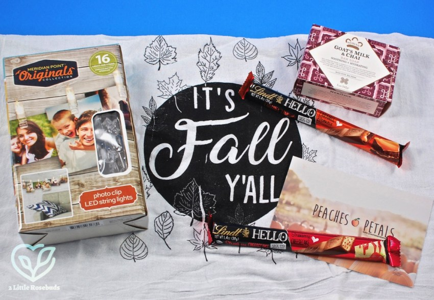 Peaches & Petals October 2018 Subscription Box Review & Coupon Code