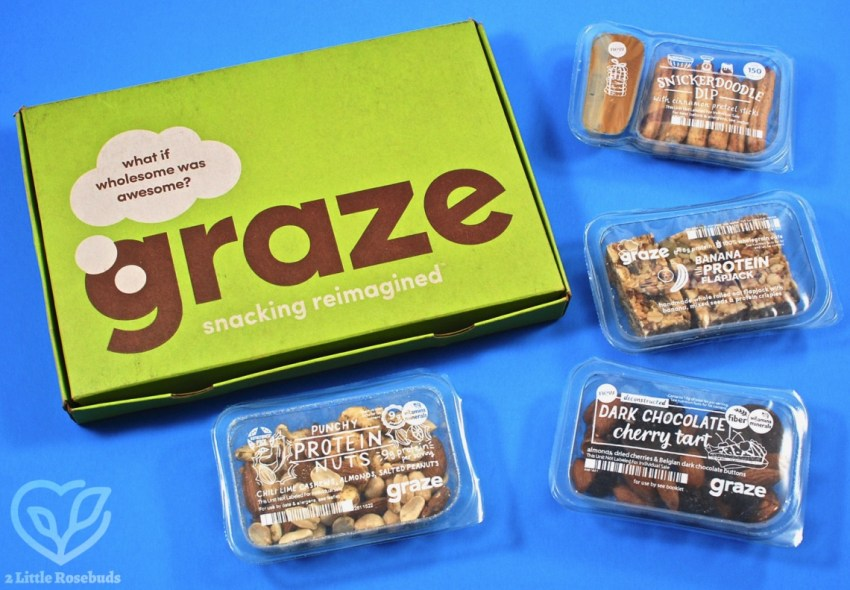 November 2018 Graze box review