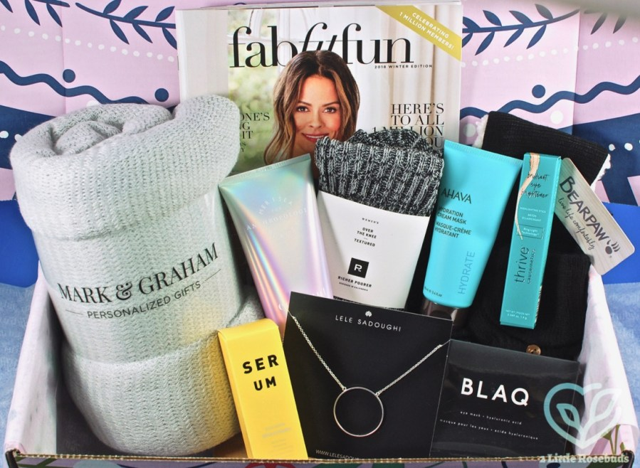 Winter 2018 FabFitFun review