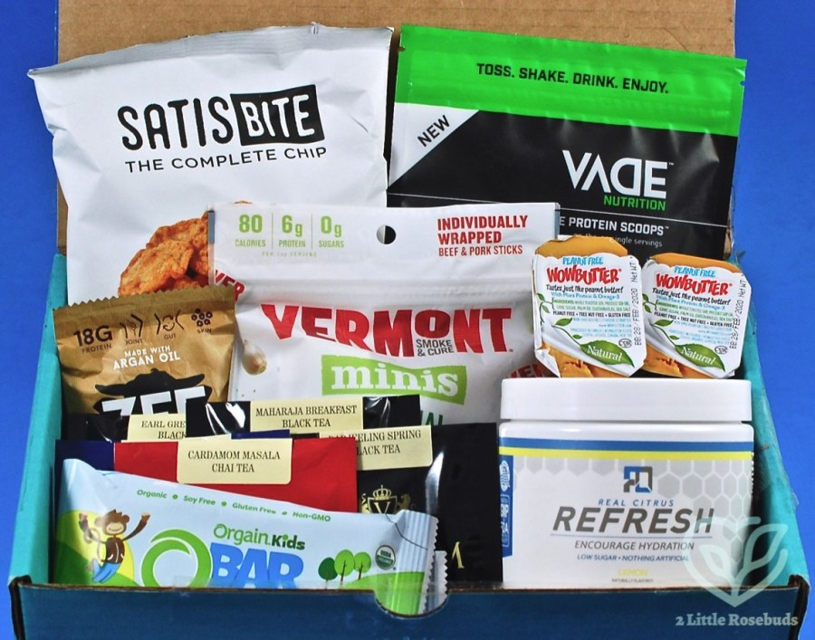 March 2019 Fit Snack review