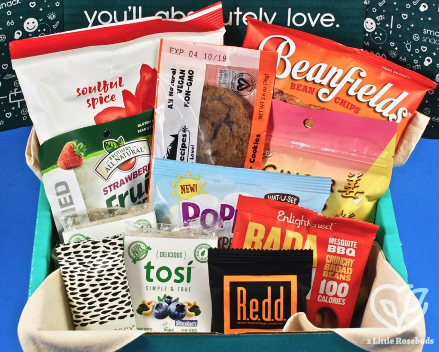 SnackSack March 2019 Vegan Subscription Box Review & Coupon