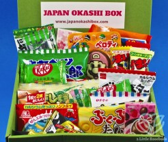 March 2019 Japan Okashi Box review
