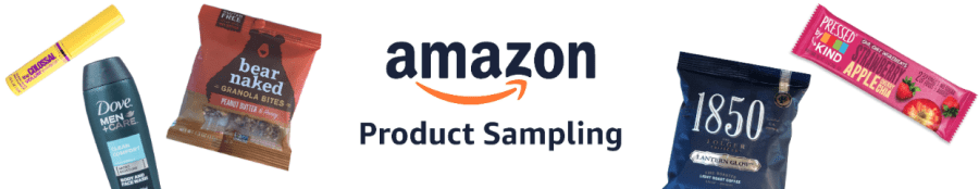 Amazon free product samples