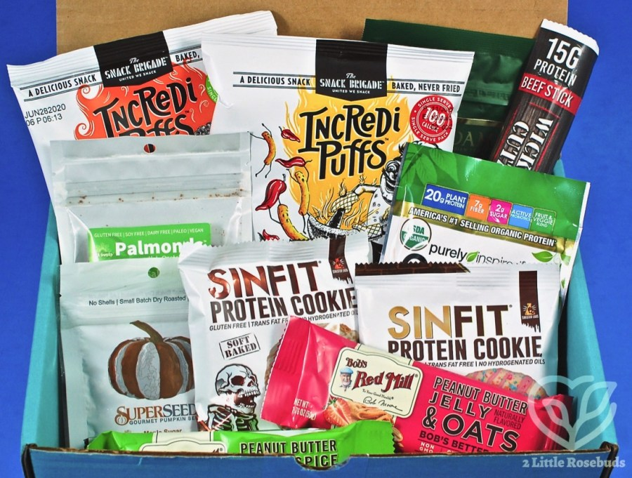 October 2019 Fit Snack review