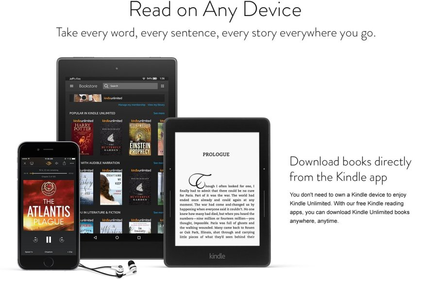 kindle free trial
