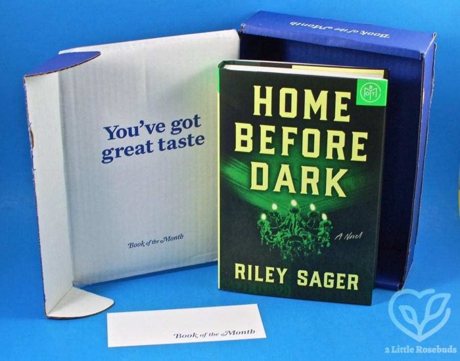June 2020 Book of the Month box review