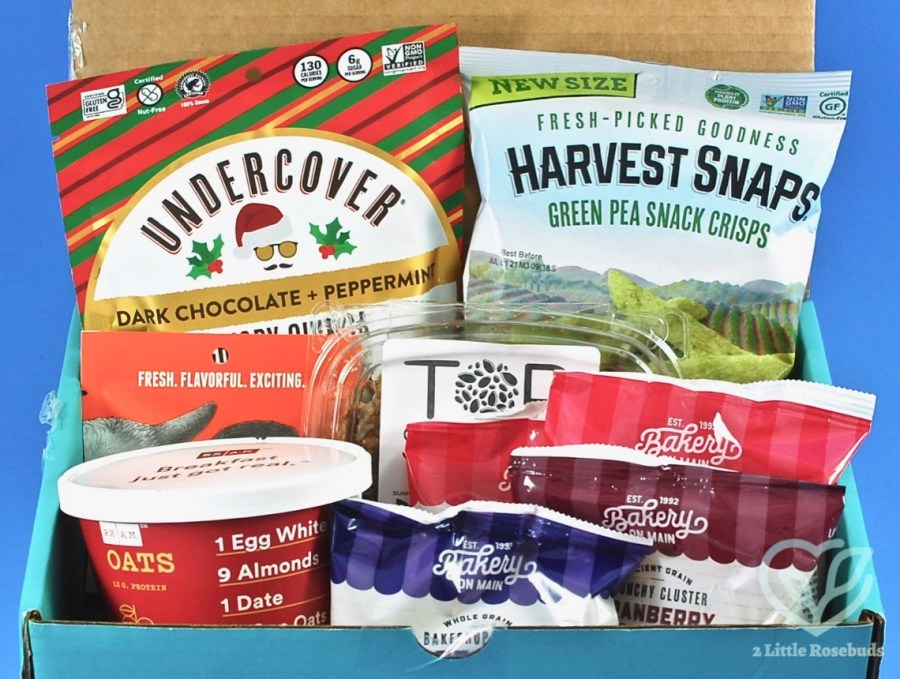 January 2021 Fit Snack box review