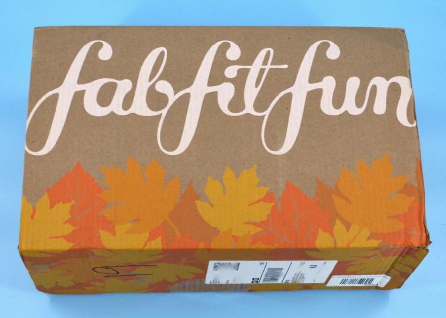 FabFitFun Fall 2021 box