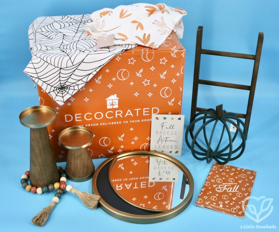 Decocrated Fall 2021 box review